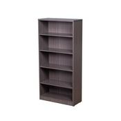 Boss Bookcase, 31W X14D X 65.5H Driftwood