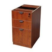 Boss Deluxe Pedestal-Full, Box/Box/File, 15.5W*22D, Cherry