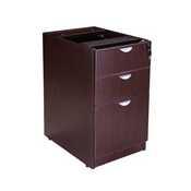 Boss Deluxe Pedestal-Full, Box/Box/File, 15.5W*22D, Mocha