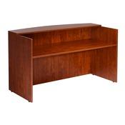 Boss Reception Desk, 71W X 30/36D X 42H, Cherry