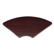 Boss Corner Table, Mahogany