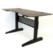 60 Inch Gas Lift Desk Mocha Color, 2 Boxes