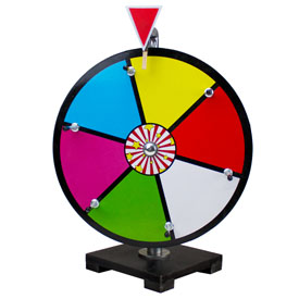 12Inch Color Dry Erase Prize Wheel