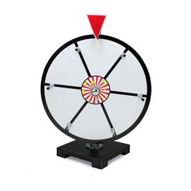 12Inch White Dry Erase Prize Wheel