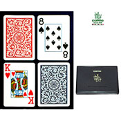 Copag Poker Size Jumbo Index Blue and Red Setup Copag Poker Size REGULAR Index Blue Red Setup Solid Carrying Case
