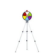 12Inch Color Dry Erase Prize Wheel w/ Floor Stand