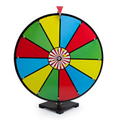 24Inch Color Dry Erase Prize Wheel