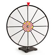 24Inch White Dry Erase Prize Wheel