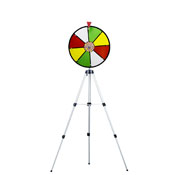 16Inch Color Dry Wheel Prize Wheel w/ Floor Stand