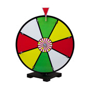 16Inch Color Dry Erase Prize Wheel