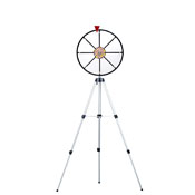 16Inch White Dry Wheel Prize Wheel w/ Floor Stand