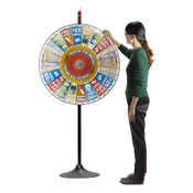 36Inch Prize Pocket Wheel with Stand