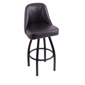 840 Swivel Stool with Black Wrinkle Finish