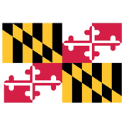 State of MD Flag