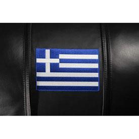 Greek Flag Logo Panel