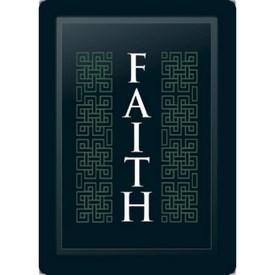 Faith Deco Vertical Sage Logo Panel