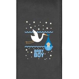 Baby Boy Stork Logo Panel