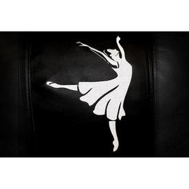 Ballerina Arabesque Logo Panel