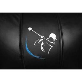 Golf Swing Blue Logo Panel
