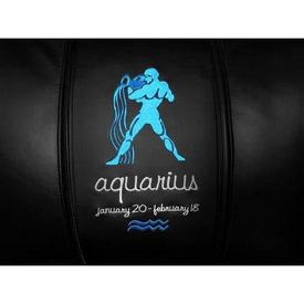 Aquarius Blue Logo Panel