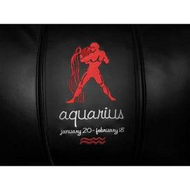 Aquarius Red Logo Panel