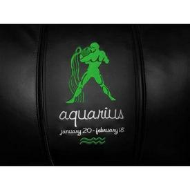 Aquarius Green Logo Panel