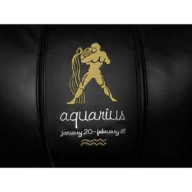 Aquarius Tan Logo Panel