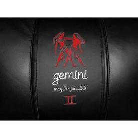 Gemini Red Logo Panel