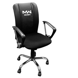 Curve Task Chair with Call of Duty Modern Warfare Icon Logo