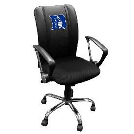 Curve Task Chair with Duke Blue Devils Logo