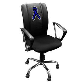 Curve Task Chair with Blue Ribbon Logo Panel