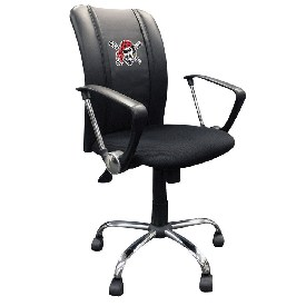 Curve Task Chair with Pittsburgh Pirates Logo