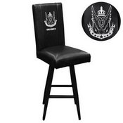 Swivel Bar Stool 2000 with Call of Duty West Top Level Faction Logo