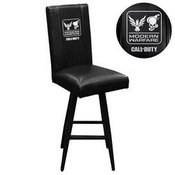 Swivel Bar Stool 2000 with Call of Duty Small Scale Faction Lock Up Logo
