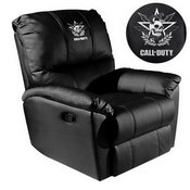 Rocker Recliner with Call of Duty East Top Level Faction Logo