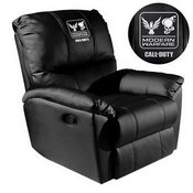 Rocker Recliner with Call of Duty Small Scale Faction Lock Up Logo