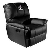 Rocker Recliner with Batty Ghostly Goblin Halloween Logo