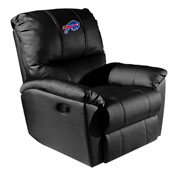 Rocker Recliner with Buffalo Bills