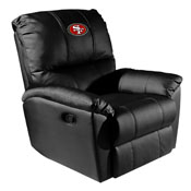 Rocker Recliner with San Francisco 49ers