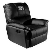 Rocker Recliner with Boombox Logo