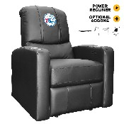 Stealth Power Plus Recliner with Philadelphia 76ers