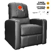 Stealth Recliner Power Plus with Cleveland Browns