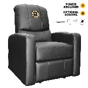 Stealth Power Plus Recliner with Boston Bruins Logo