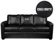 Silver Sofa with Call of Duty Logo
