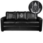 Silver Sofa with Call of Duty West Top Level Faction Logo