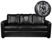 Silver Sofa with Call of Duty Africanz Logo