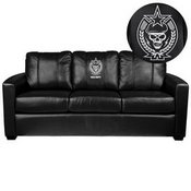 Silver Sofa with Call of Duty Spetsnaz Logo