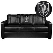 Silver Sofa with Call of Duty UK SAS Logo