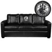 Silver Sofa with Call of Duty JSOF Logo