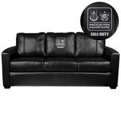 Silver Sofa with Call of Duty Faction Lock Up Logo